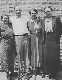 Rosa Rastatter, Uncle Joe, Mom & Erika Wyrenbeck
