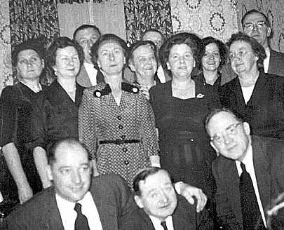 Whole Family, My Pop very rear Mom on left