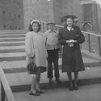 Hilde visits NY 1947