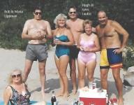 Us with Bob and Helga Stanton